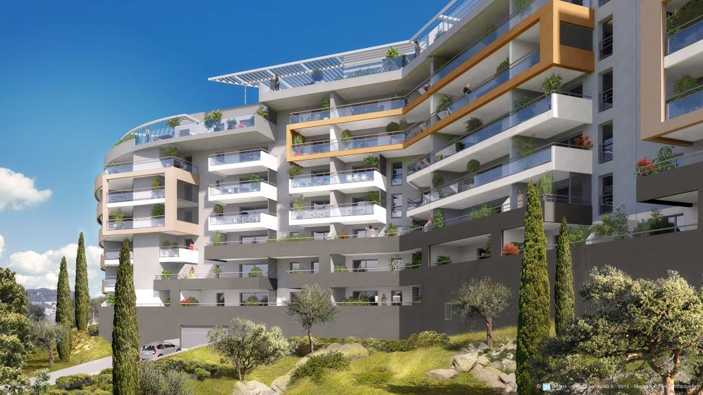 Residence genovese aspretto programme immobilier neuf for Residence neuf
