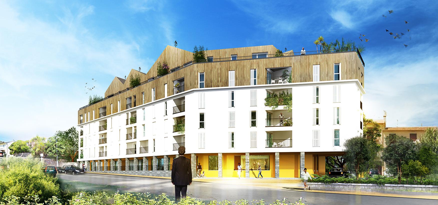 Programme neuf l 39 apart programme immobilier neuf ajaccio for Programme neuf